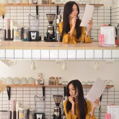 咖啡店老板娘系列