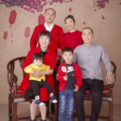 中式全家福