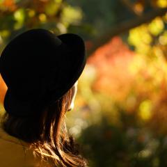 清华园の秋