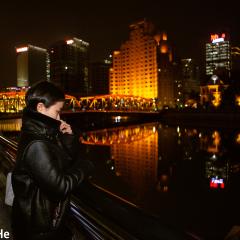 黄浦江畔,夜色温柔